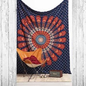 UO Magical Thinking Paisley Medallion Tapestry
